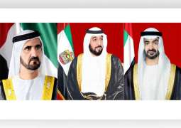 رئيس الدولة ونائبه ومحمد بن زايد يعزون رئيس تركمانستان في وفاة والده