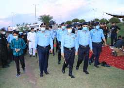 IGP joins policemen in `Iftar' at police picket