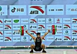 Talha Talib won bronze medal in Asian Weightlifting Championship