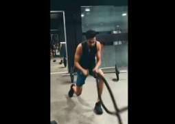 Shoaib Malik shares tough gym routine with fans