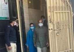Shehbaz Sharif released from Kot Lakhpat jail