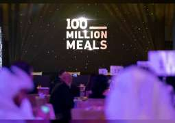 Charity art auction raises AED36.6 million for '100 Million Meals'