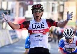 Pogačar seizes momentous win for UAE Team Emirates at Liege-Bastogne-Liege