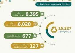أمانة القصيم تعالج ١٥ ألف طن من النفايات