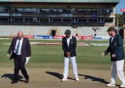 Zimbabwe chose to bat vs Pakistan in the first Test match