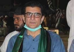 PPP's Qadir Khan Mandokhail clinches victory in NA-249