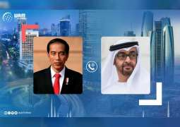 Mohamed bin Zayed condoles deaths of submarine victims with Indonesian President