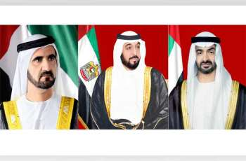 رئيس الدولة ونائبه ومحمد بن زايد يهنئون الملك عبدالله الثاني بالذكرى المئوية لتأسيس المملكة الأردنية الهاشمية