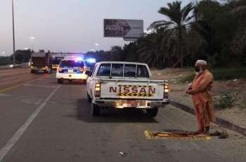 شرطة أبوظبي : 500 درهم غرامة للوقوف الخاطئ على جانب الطريق