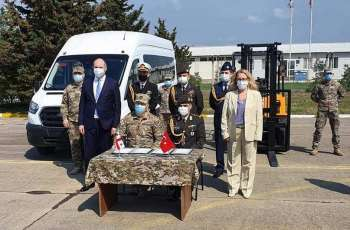 Georgia Receives New Equipment for Marneuli Military Airfield From Turkey - Tbilisi