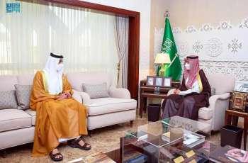 سمو نائب أمير الشرقية يستقبل سفير دولة الإمارات لدى المملكة