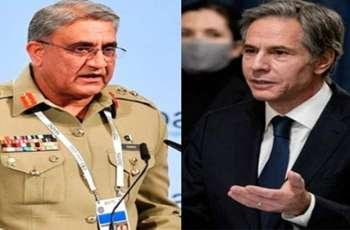 US acknowledges Pakistan's continuous efforts for peace