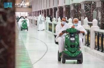 أداء أول صلاة جمعة بالمسجد الحرام في شهر رمضان المبارك
