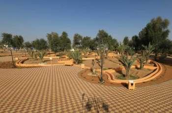 """بلدية مدينة العين تنجز مشروع """" واحة الهير"""" على مساحة 25 ألف متر مربع"""