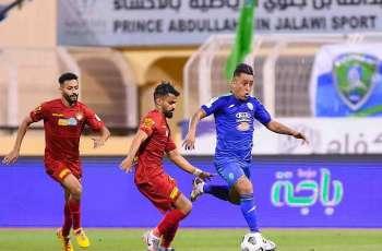 مواجهة الفتح وضمك تنتهي بالتعادل الإيجابي في دوري كأس الأمير محمد بن سلمان للمحترفين
