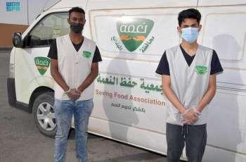 جمعية حفظ النعمة بالبدائع توزع 7585 وجبة للأسر المستفيدة