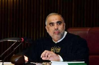 رئیس البرلمان الباکستانی یعزي بوفاة الرئیس السابق لشرطة اقلیم خیبربختونخواہ متأثرا بکورونا