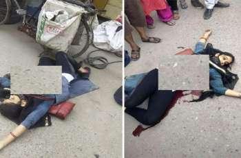 مقتل مذیعة أمام الناس علی الشارع فی الھند