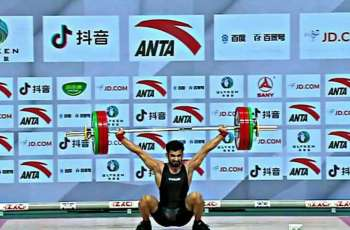 Talha Talib won bronze medal in Asian Weightlifting Championship