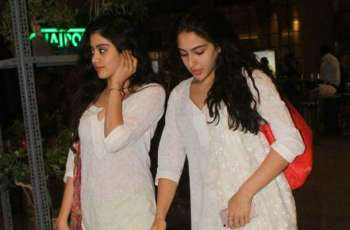 Sara Ali Khan, Janhvi Kapoor determined to get golden glow
