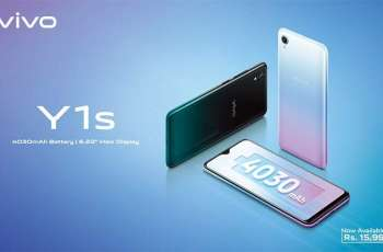 vivo Y1s Launched with 4030 mAh Battery and 6.22-Inch Halo FullView™ Display