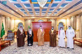 سمو أمير الجوف يستقبل رئيس وأعضاء جمعية سمح للخدمات الطبية بطبرجل