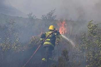 Massive Fire in South Africa's Cape Town Contained - Official