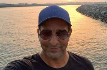 Wasim Akram, son spending holy month of Ramadan in Dubai