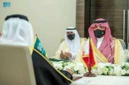سمو الأمير عبدالعزيز بن سعود ووزير الداخلية البحريني يرأسان الاجتماع الأول للجنة التنسيق الأمني والعسكري