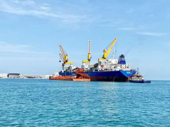 Emirates Steel, SAFEEN Group commence transshipment services