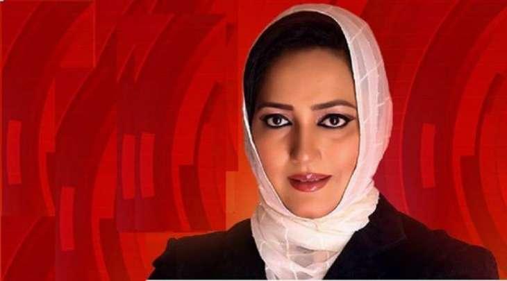 اصابة الصحفیة عاصمة شیرازي و زوجھا بفیروس کورونا