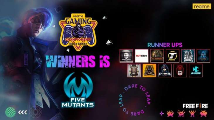 realme Gaming Championship – Narzo Edition Comes to an End Setting Fire within the Gaming Community of Pakistan