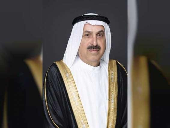 Saqr Ghobash visits Expo 2020 Dubai site