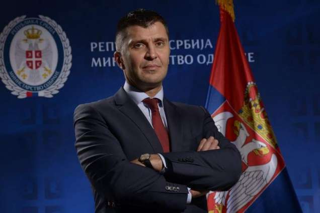 Serbian Post Chief Djordjevic Says Receives Commemorative Medal From Putin