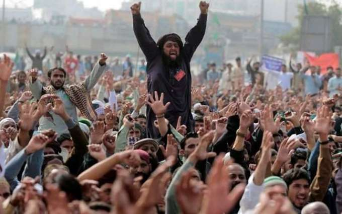 Protests erupt in different cities after detention of TLP Chief Saad Rizvi in Lahore