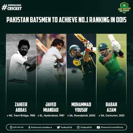 Babar Azam finishes South Africa ODIs as No.1 ranked batsman
