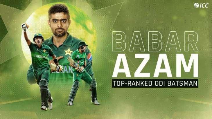 Babar Azam overtakes Indian Captain Virat Kohli and become No 1ODI batsman in ICC rankings