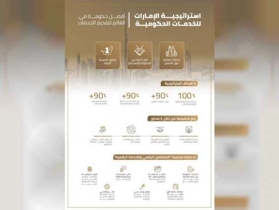 UAE Government organises virtual meetings on implementing government services strategy