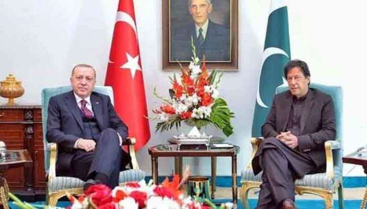 Turkish President discusses Afghan peace with Imran amid US withdrawal
