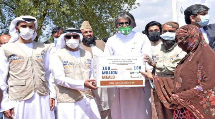 سفارة الامارات لدی اسلام آباد تطلق مشروع توزیع السلال الرمضانیة فی مختلف المناطق بباکستان