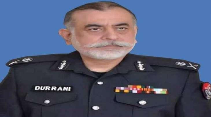 وفاة رئیس الشرطة فی اقلیم خیبربختونخوا السابق ناصر دراني بعد اصابتہ بفیروس کورونا