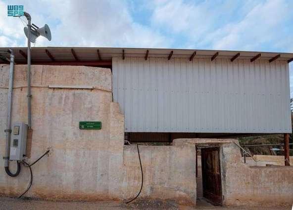 من مشروع الأمير محمد بن سلمان لتطوير المساجد التاريخية..مسجد المنسف بالزلفي الذي بُني قبل 150 عامًا