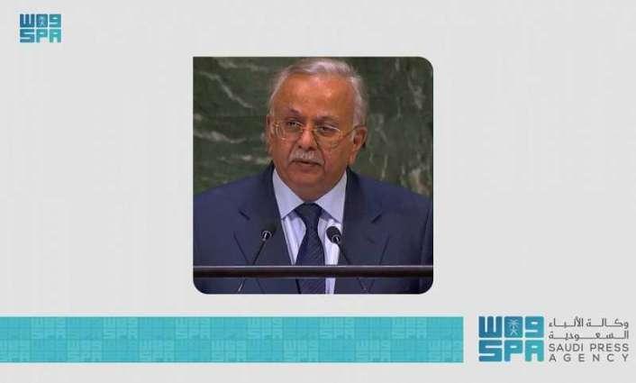 السفير المعلمي يشارك في اجتماع أعضاء تحالف دعم الشرعية في اليمن على مستوى السفراء