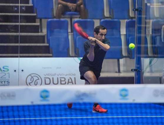 Team 'Uncle Saeed' to meet Al Hajeri and Hudda in NAS Padel's Bronze Category final