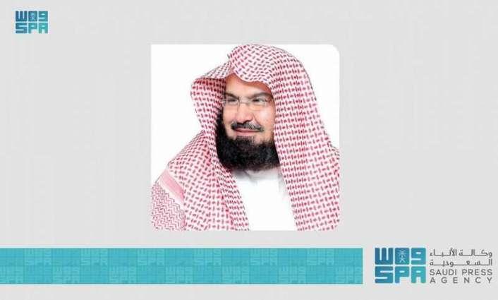 الرئيس العام لشؤون الحرمين يوجه بفتح الدور الأول وسطح توسعة الملك فهد للمصلين وفق الإجراءات الاحترازية