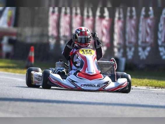 Rashid Al Dhaheri crowned 2021 Champion in 'World Series Karting Super Master Series'