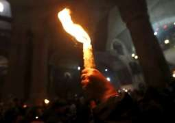 Holy Fire Arrives in Ukraine From Israel Ahead of Orthodox Easter - Reports