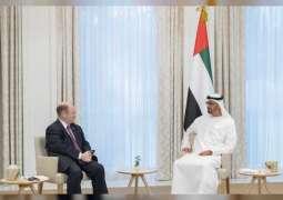 Mohamed bin Zayed meets two US senators