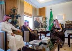 سمو نائب أمير القصيم يطلع على مستجدات أعمال أمانة المنطقة