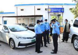IGP conducts surprise visit of Golra police station, directs for proper maintenance of record